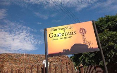 TE KOOP – GASTEHUIS TE STRAUSSSTRAAT 1 HERTZOGVILLE